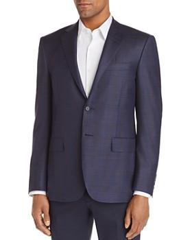 Canali - Siena Plaid Regular Fit Wool Sport Coat