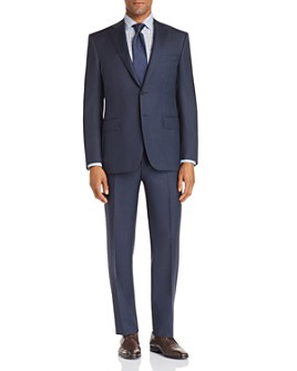 Canali - Siena Textured-Weave Classic Fit Suit