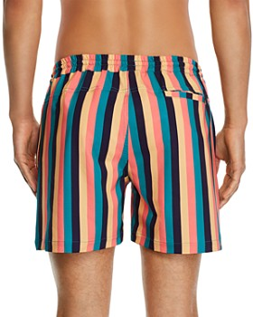 DUVIN - Boogie Striped Swim Shorts