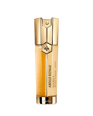 What It Is: A serum that combines the ultimate anti-aging corrective technology with a soft-peel treatment for highly effective action on visible aging signs. What It Does: Targets aging signs such as the loss of skin elasticity and firmness, wrinkles, dull skin, imperfections and large pores. Its lifting effect formula offers the skin exceptional benefits from the brand\\\'s exclusive active ingredient-Guerlain\\\'s Royal Jelly. Its soft-peel formula provides a new skin effect which promotes the rene