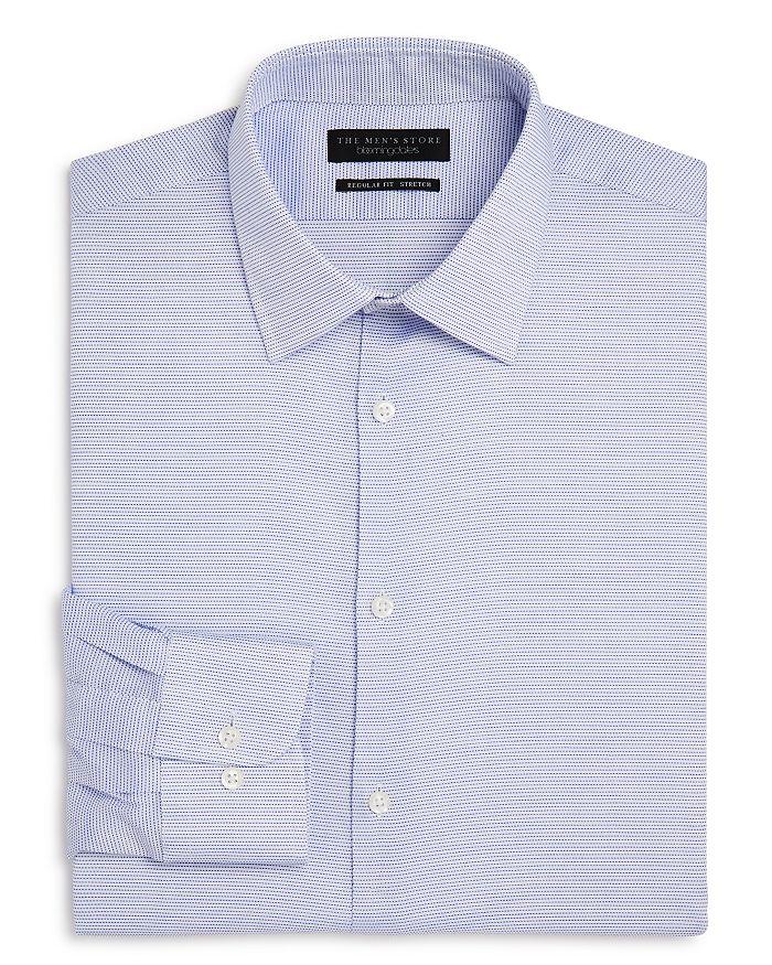 The Men's Store at Bloomingdale's - Micro-Dot Pattern Regular Fit Dress Shirt