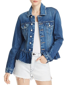BLANKNYC - Peplum Denim Jacket