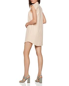BCBGENERATION - Seersucker Check Shirt Dress