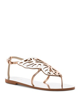 Sophia Webster - Women's Bibi Butterfly Thong Studded Sandals