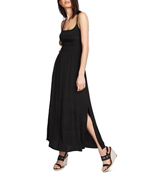 1.STATE - Sleeveless Cinched-Bodice Maxi Dress