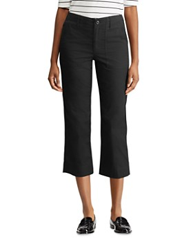 Ralph Lauren - Straight-Leg Cropped Pants