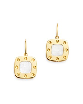Roberto Coin - 18K Yellow Gold Pois Moi Mother-of-Pearl Drop Earrings