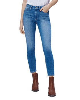 aa9145a277 PAIGE - Hoxton Cropped Jeans in Renzo ...
