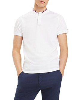 Tommy Hilfiger - Striped-Collar Slim Fit Henley