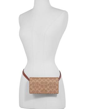 COACH - Signature Coated Canvas Belt Bag