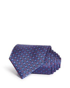 Canali - Compass Medallion Silk Classic Tie
