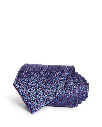 Canali - Compass Medallion Silk Classic Tie