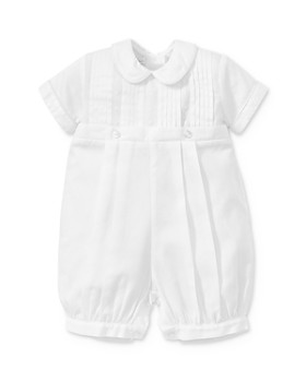 Kissy Kissy - Boys' Peter Pan Collar Shortall - Baby