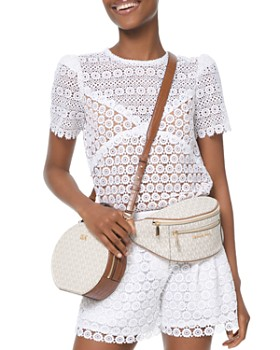 MICHAEL Michael Kors - Sheer Medallion Lace Top
