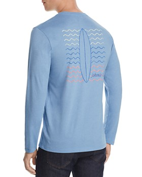 Johnnie-O - Ripple Long-Sleeve Graphic Tee