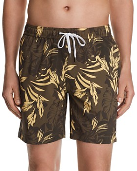 Onia - Charles Camo Palms-Print Swim Trunks - 100% Exclusive