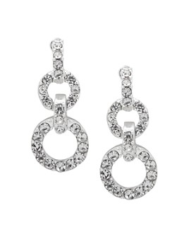 Ralph Lauren - Pavé Double Drop Earrings