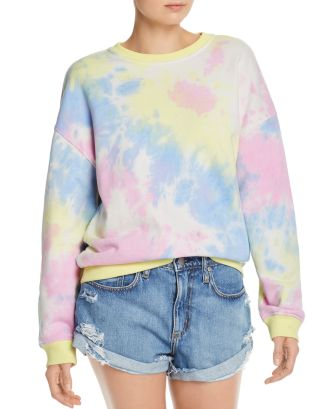 Tie Dye Sweatshirt   100 Percents Exclusive by Aqua