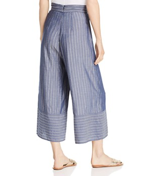Amanda Uprichard - Ravine Metallic Striped Pants