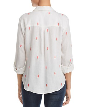 Billy T - Embroidered Creamsicle Shirt