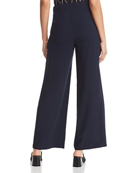 Donna Karan - Drawstring Wide-Leg Pants