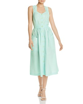 Rebecca Taylor - Poplin Midi Dress