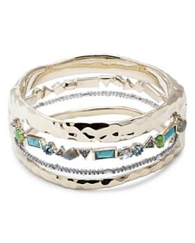 Alexis Bittar - Multi-Row Hinge Bracelet