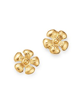 Moon & Meadow - Daisy Stud Earrings in 14K Yellow Gold - 100% Exclusive