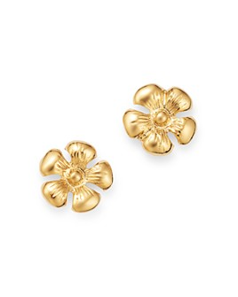 Moon & Meadow - Daisy Stud Earrings in 14K Yellow Gold - 100% Exclusive
