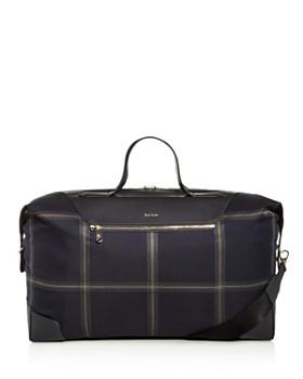 Paul Smith - Windowpane Check Duffle Bag