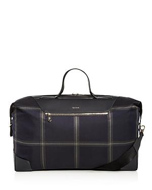 Paul Smith Windowpane Check Duffle Bag