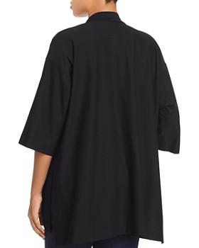Eileen Fisher Plus - Open-Front Kimono Jacket