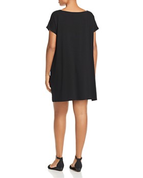 Eileen Fisher Plus - Square-Neck Dress - 100% Exclusive