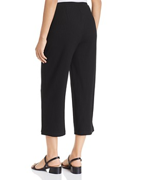 Eileen Fisher - Ribbed Cropped Pants