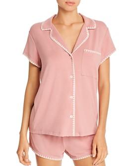 Eberjey - Frida Whipstitch Short Pajama Set - 100% Exclusive