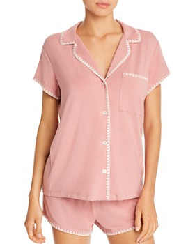 Eberjey - Frida Whipstitch Short Pajama Set - 100% Exclusive