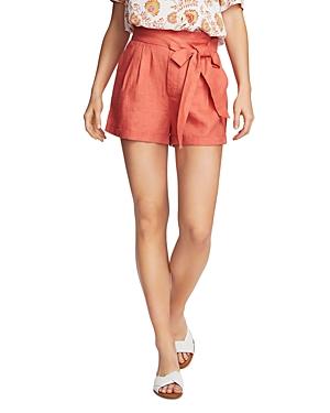 1.state Cuffed Tie-Waist Shorts