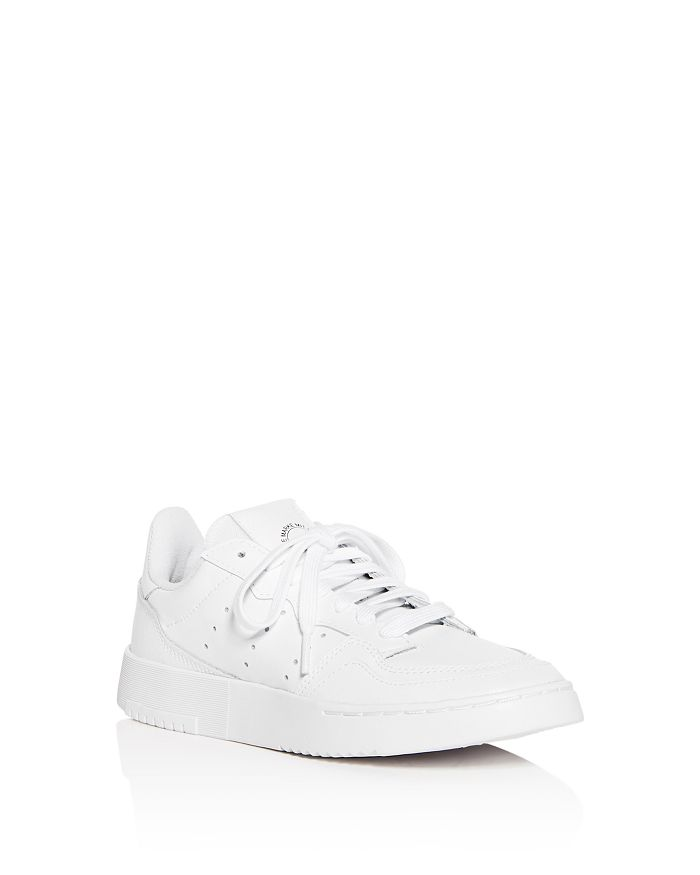 Adidas - Unisex Supercourt Leather Low-Top Sneakers - Big Kid