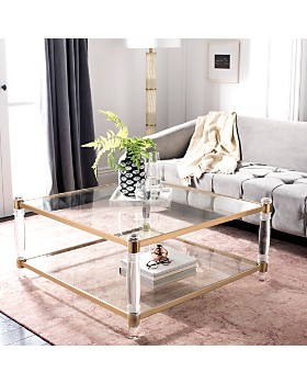 SAFAVIEH - Couture Isabelle Acrylic Coffee Table