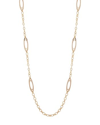 "Ralph Lauren - Stirrup Link Necklace, 42"""