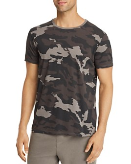 ATM Anthony Thomas Melillo - Camo Jersey Crewneck Tee - 100% Exclusive