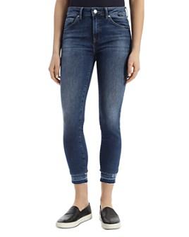 Mavi - Tess Double Hem Vintage Jeans in Medium Blue