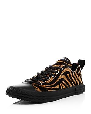 Giuseppe Zanotti Men's Animal Print Blabber Sneakers - 100% Exclusive In Tiger