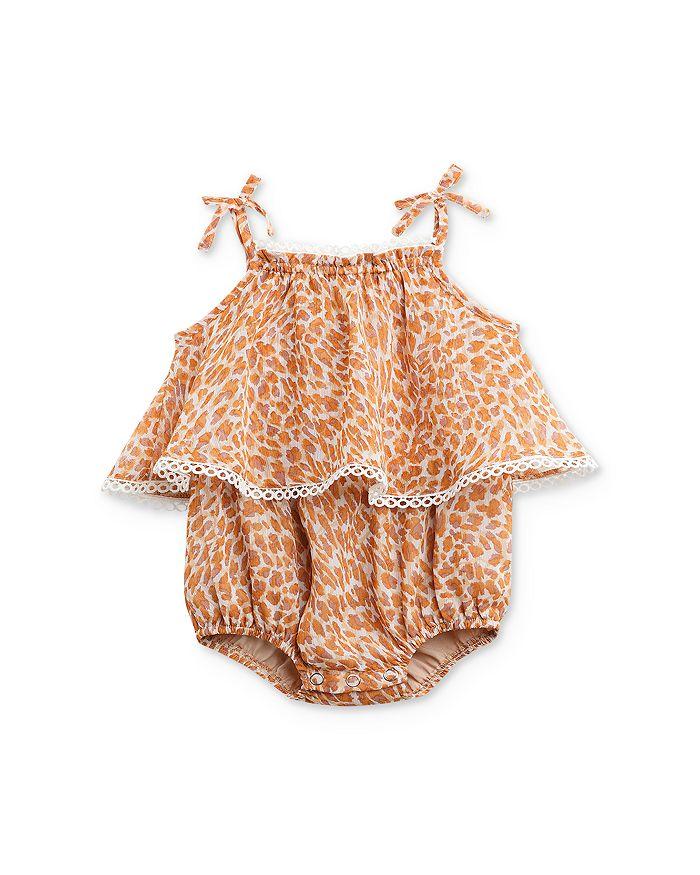 Bardot Junior - Girls' Leopard Romper - Baby