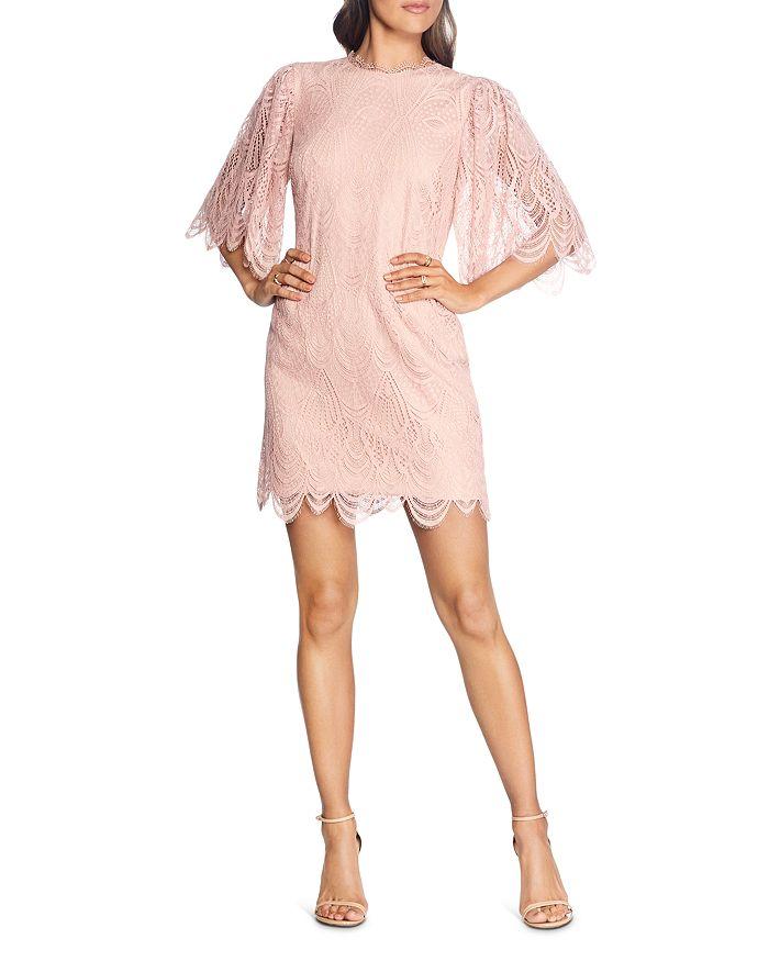Dress the Population - Toni Angel Sleeve Shift Dress - 100% Exclusive