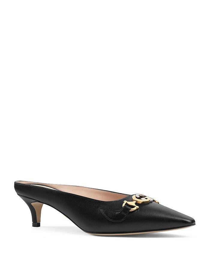 Gucci - Women's Zumi Leather Slides