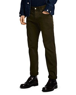 Scotch & Soda - Ralston Skinny Fit Jeans in Military Green
