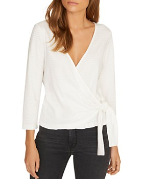 Sanctuary - Emelie Textured Wrap Top