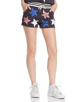 Splendid - Liberty Active Star-Print Shorts