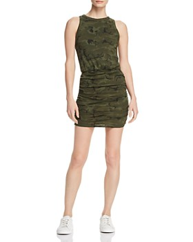 n:philanthropy - Majorca Ruched Camo Dress